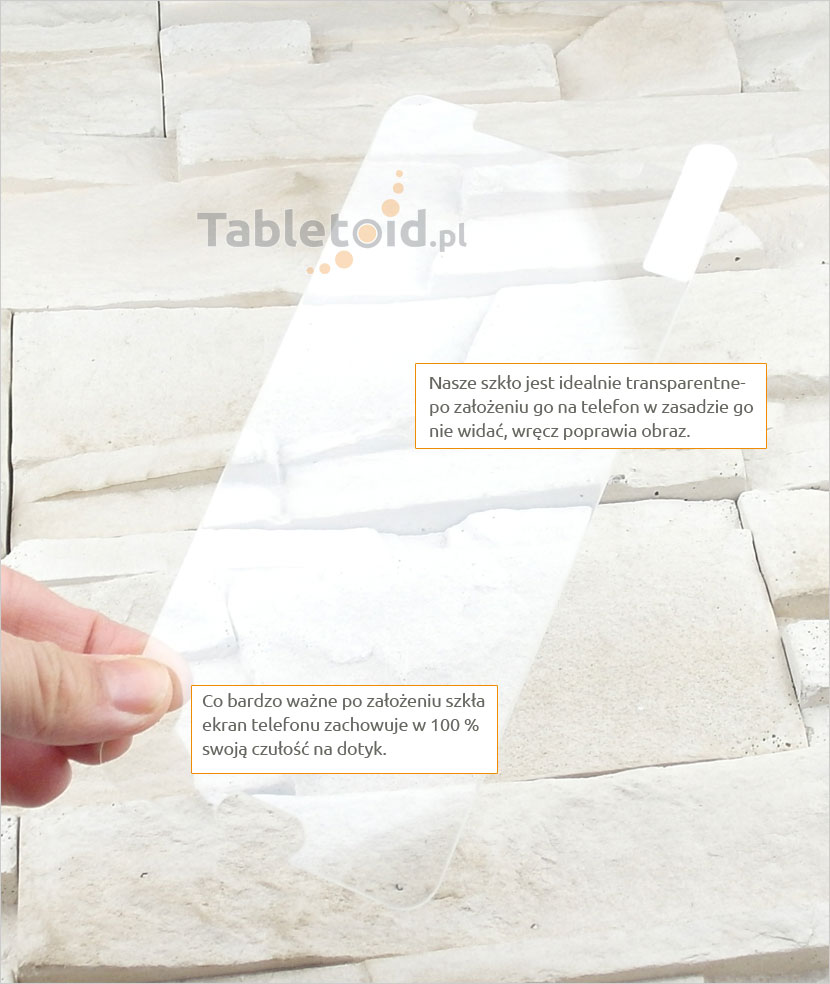 Szkło hartowane dedykowane na telefon Samsung Galaxy A9