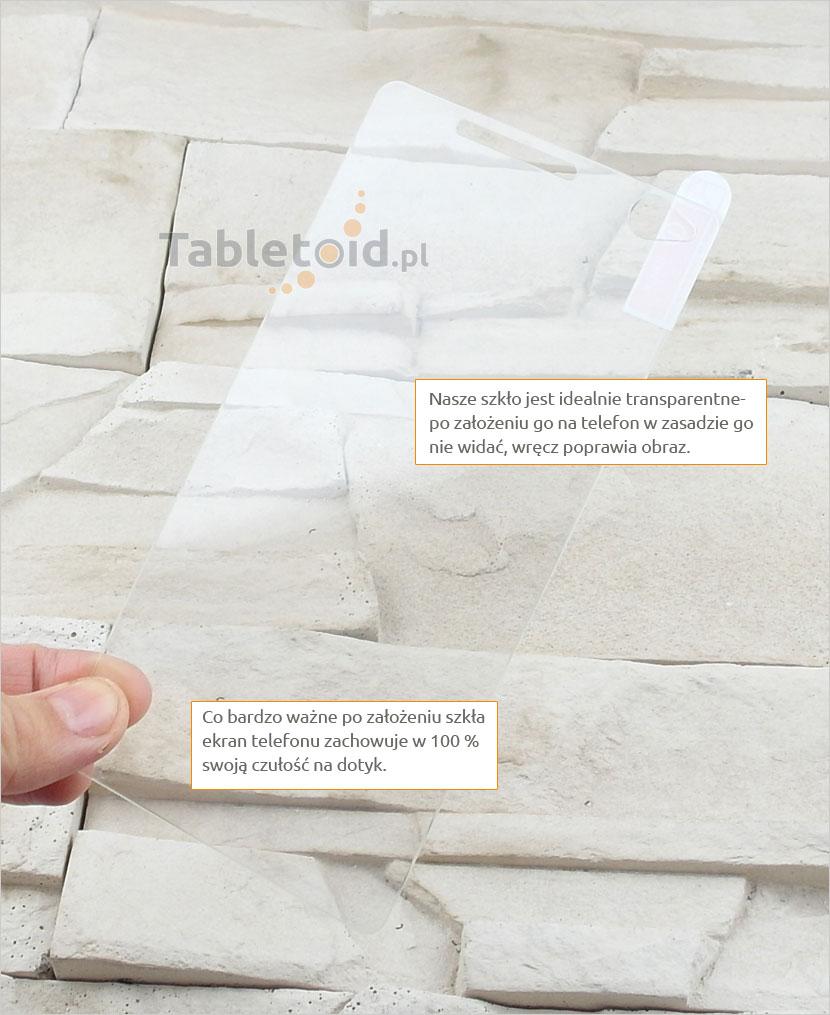 Szkło hartowane dedykowane na telefon Sony Xperia C4