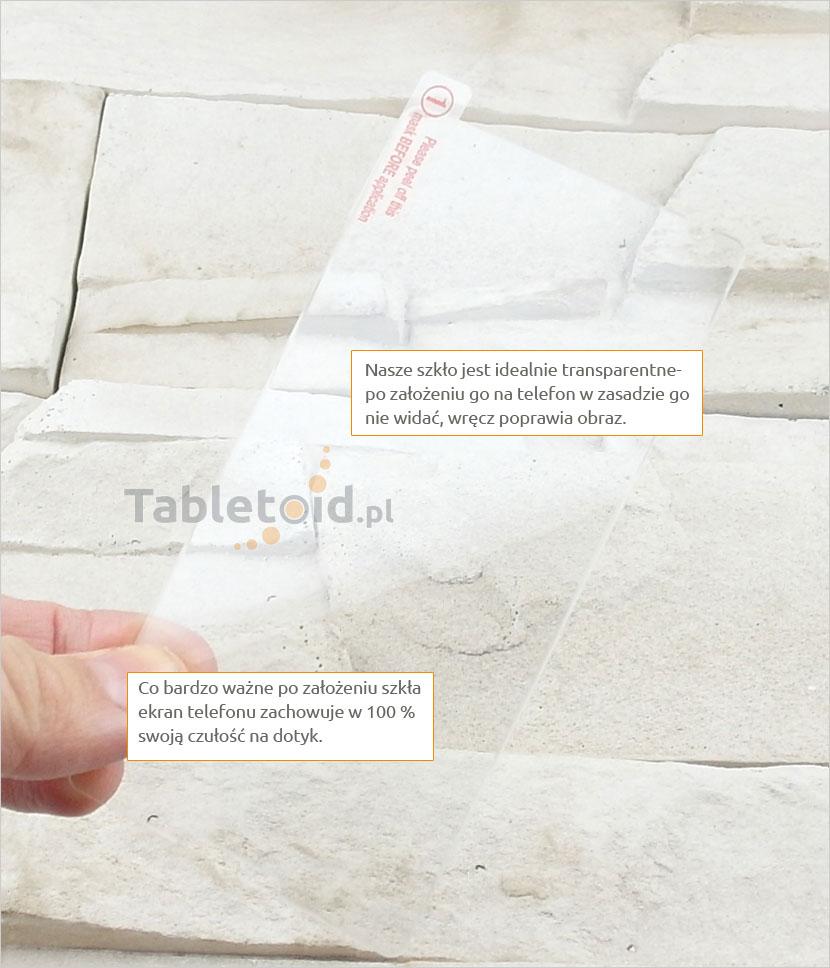 Szkło hartowane dedykowane na telefon Sony Xperia E1