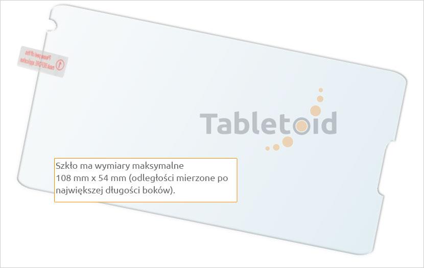 Zawartość ze szkłem Sony Xperia E1