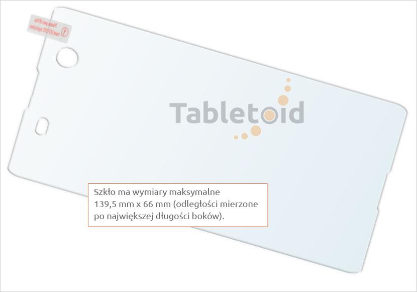 Zawartość ze szkłem Sony Xperia M4 Aqua