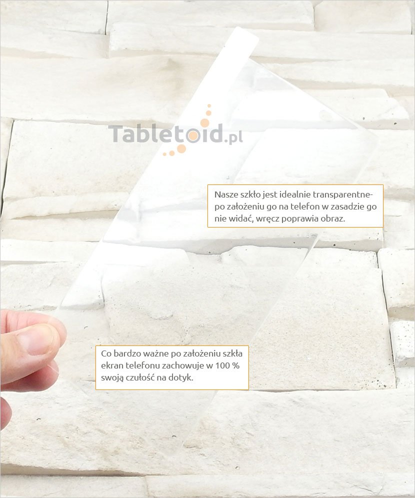 Szkło hartowane dedykowane na telefon Sony Xperia Z2a