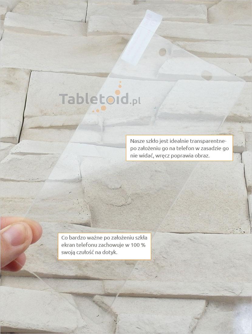Szkło hartowane dedykowane na telefon Sony Xperia Z4