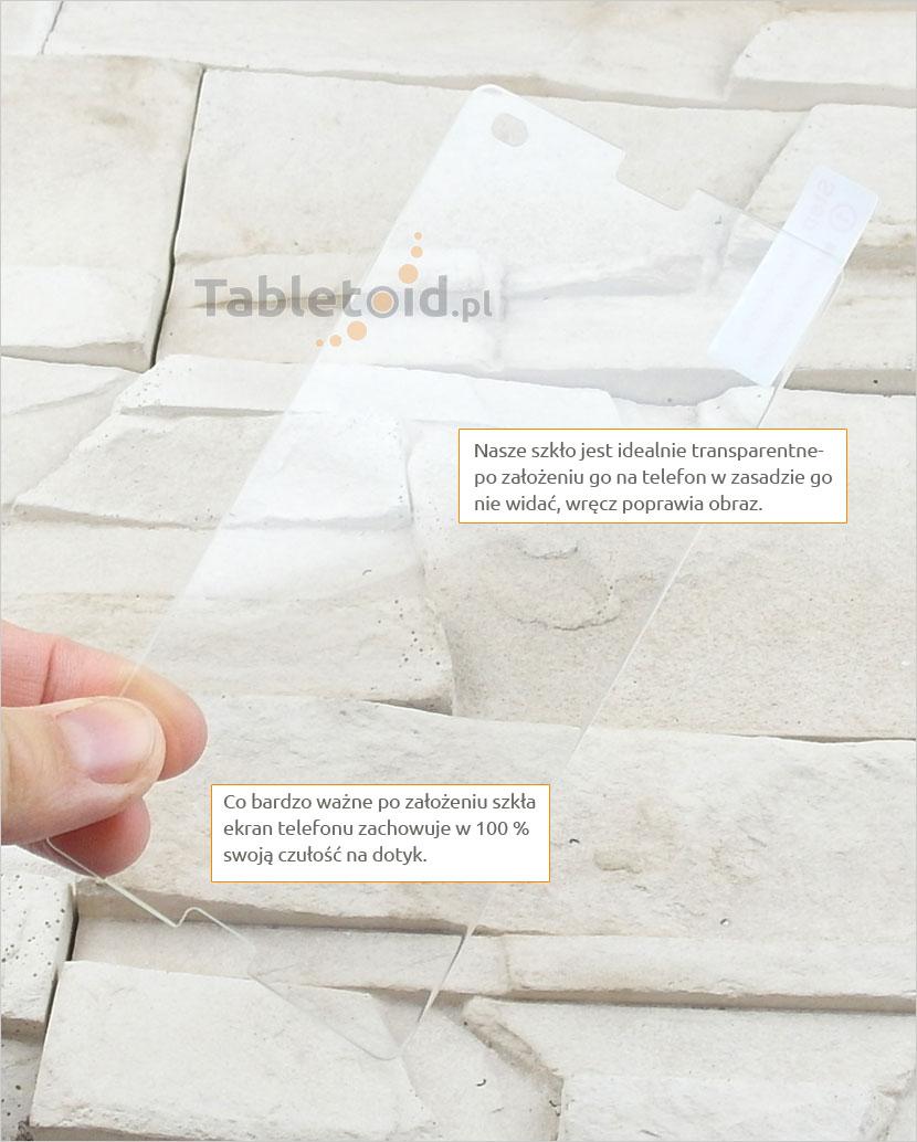 Szkło hartowane dedykowane na telefon Sony Xperia Z4 Compact