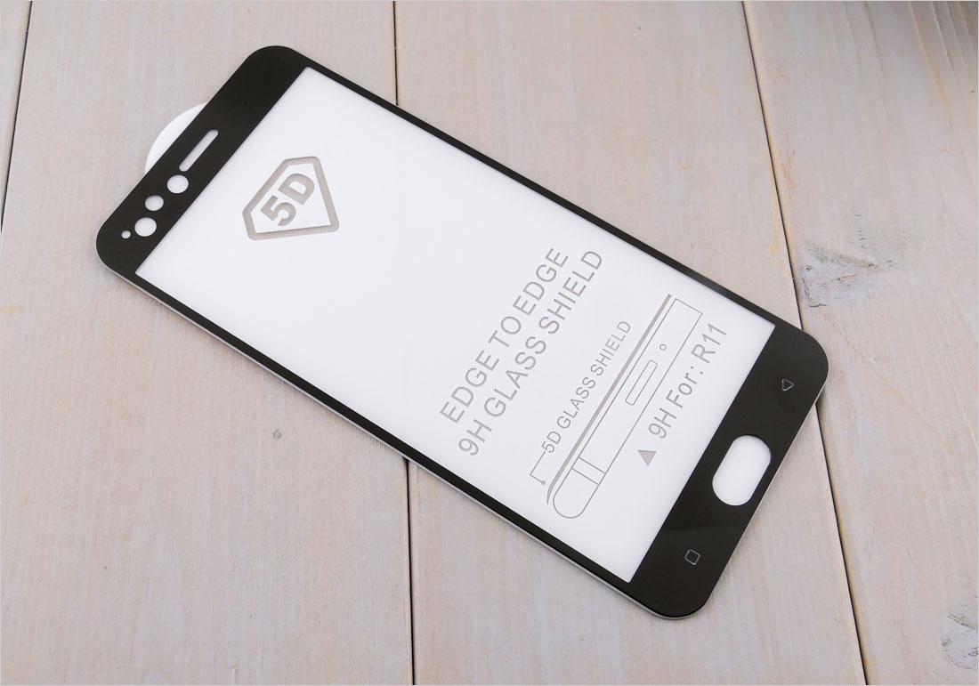 Szkła hartowane zaokrąglone do telefonów Oppo R11