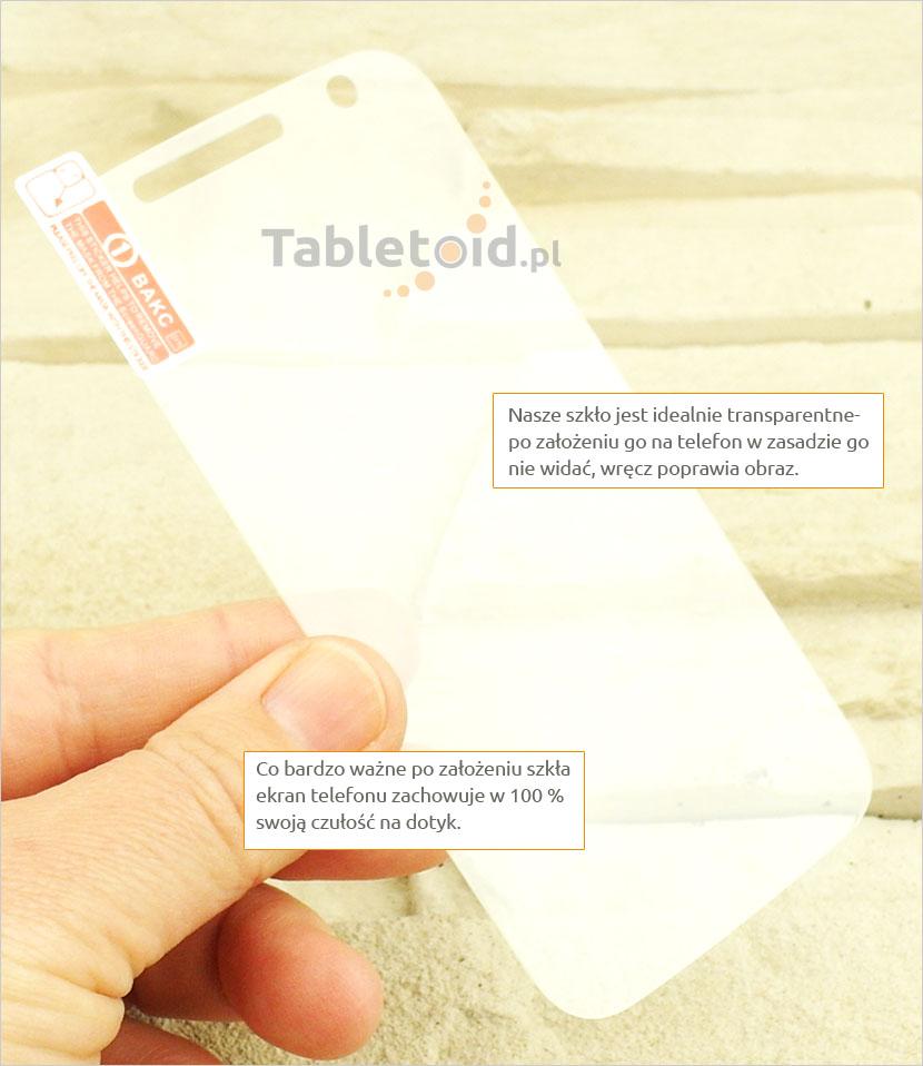 Szkło hartowane dedykowane na telefon Motorola Moto G
