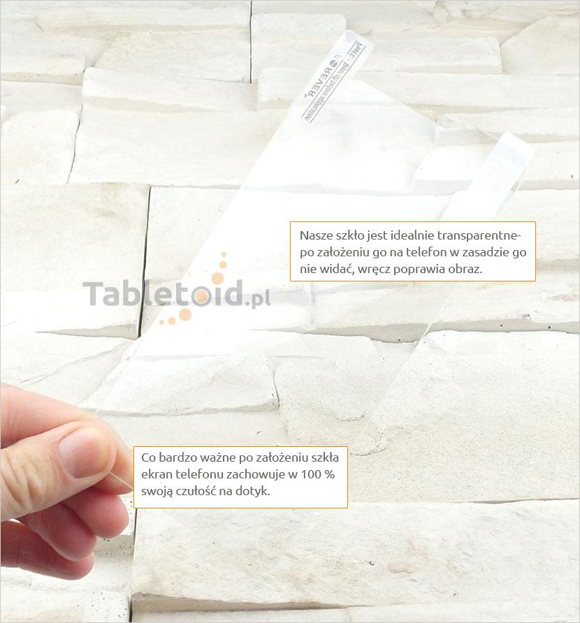 Szkło hartowane dedykowane na telefon Lenovo S580