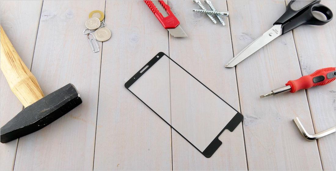 Szkła hartowane zaokrąglone do telefonów Lenovo ZUK Edge Z2151
