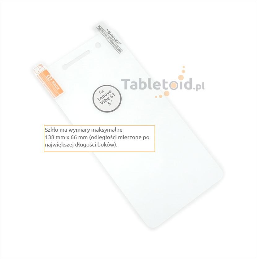 Zawartość ze szkłem Lenovo Vibe S1