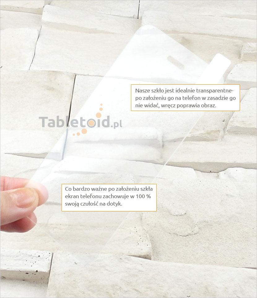 Szkło hartowane dedykowane na telefon Apple iPhone 5 SE