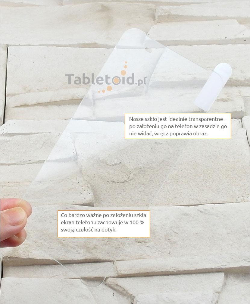 Szkło hartowane dedykowane na telefon HTC One X9