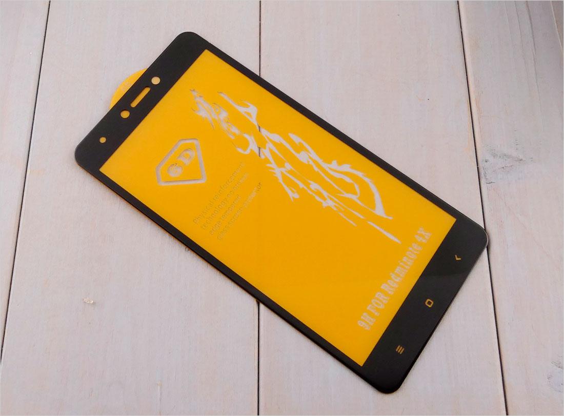 Szkło hartowane na telefon dotykowy  Xiaomi Redmi Note 4