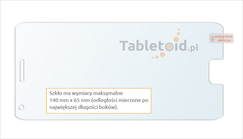 Szkło chroniące telefon Lenovo ZUK Z2 Pro