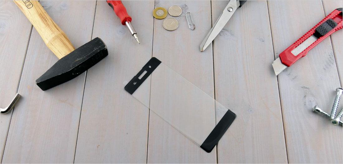 zaokrąglone szło hartowane na telefon Sony Xperia XA F3111, F3113, F3115