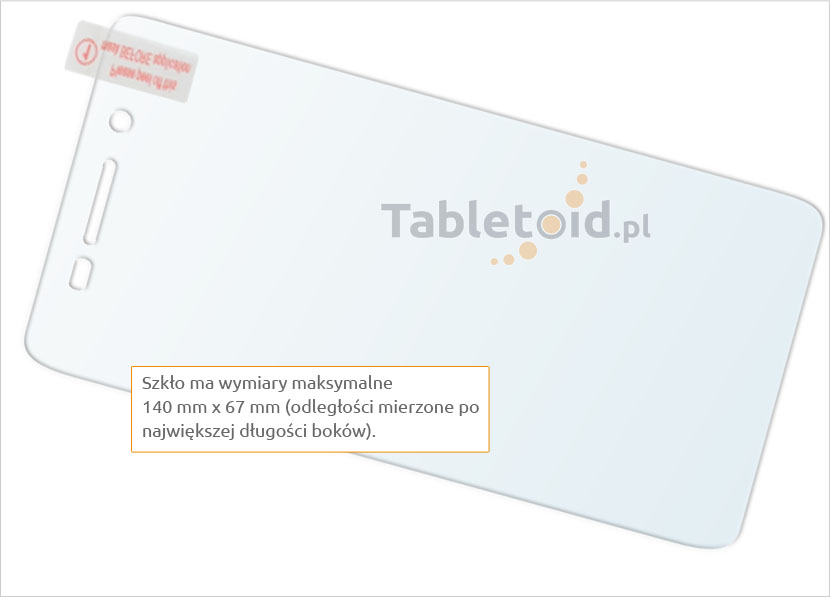 Szkło chroniące telefon Huawei Enjoy 5s