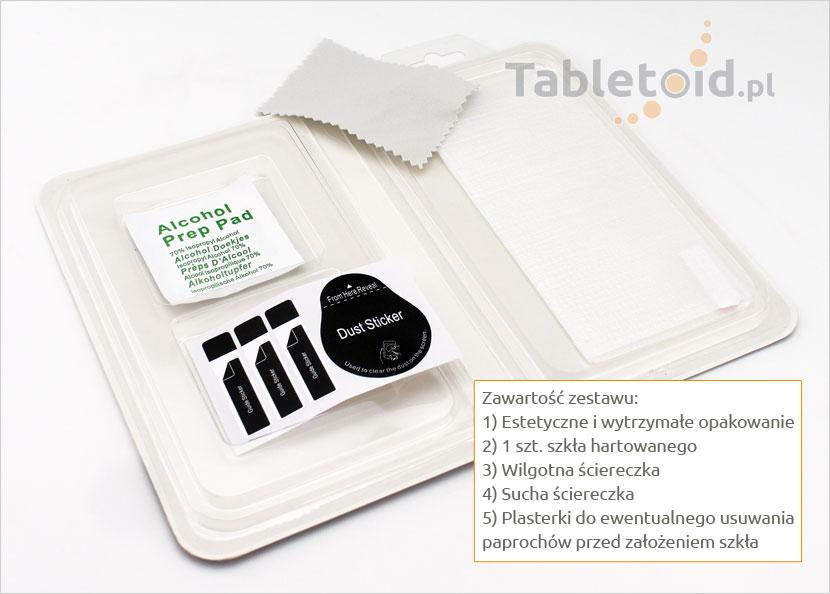 Szkło hartowane na telefon Lenovo Vibe C2