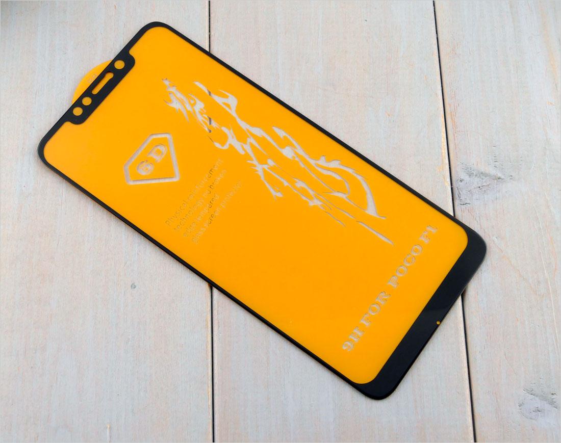 Szkło hartowane na telefon Xiaomi Pocophone F1 Poco F1, M1805E10A (2018)
