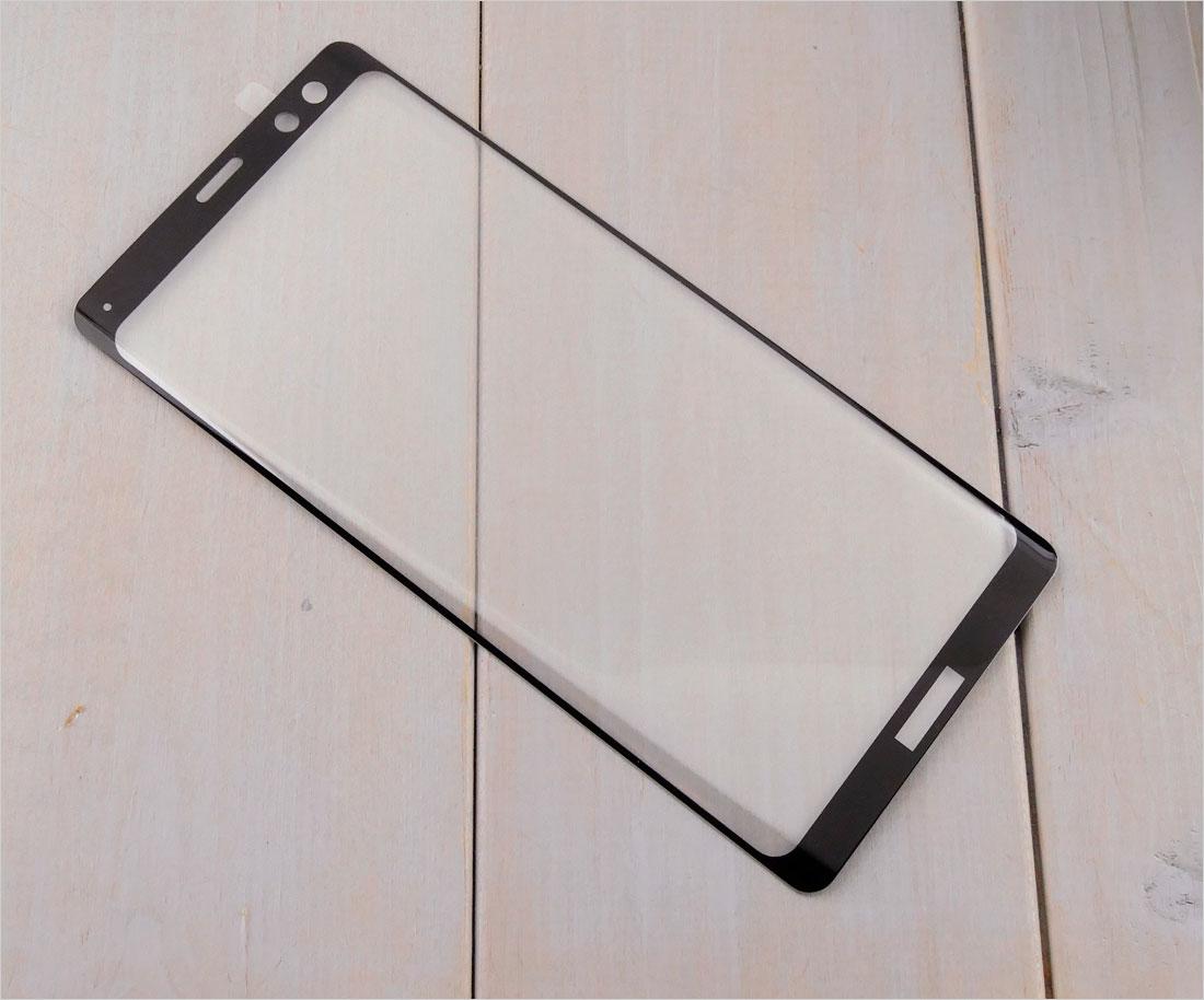 Szkła hartowane zaokrąglone do telefonów Sony Xperia XZ3