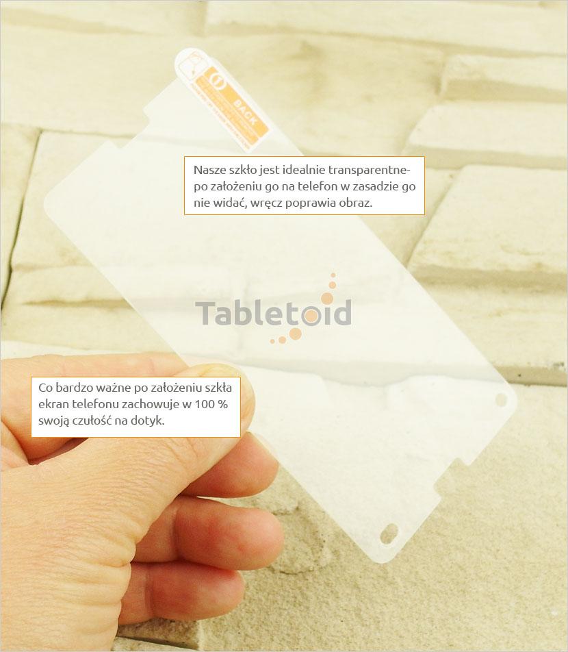 Szkło hartowane dedykowane na Sony A4