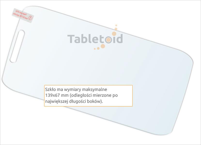Ochrona szkła Motorola MOTO C PLUS