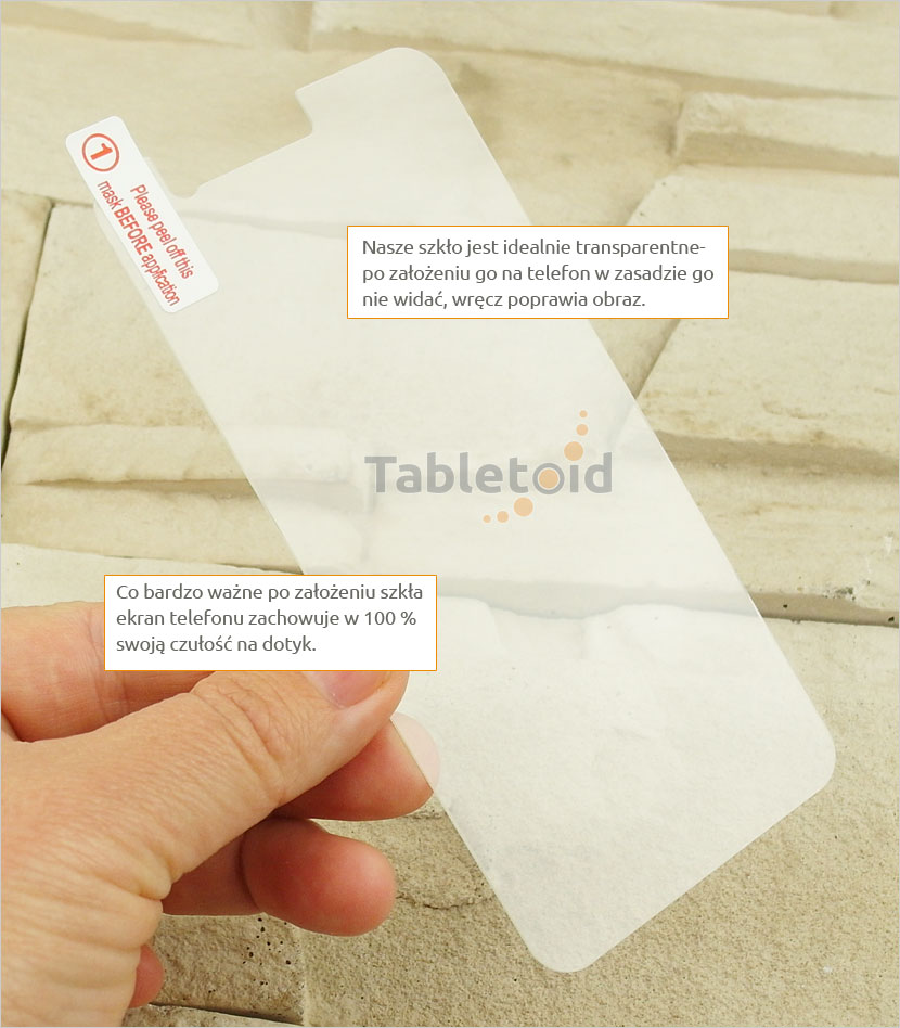 Szkło hartowane na telefon ZTE A520