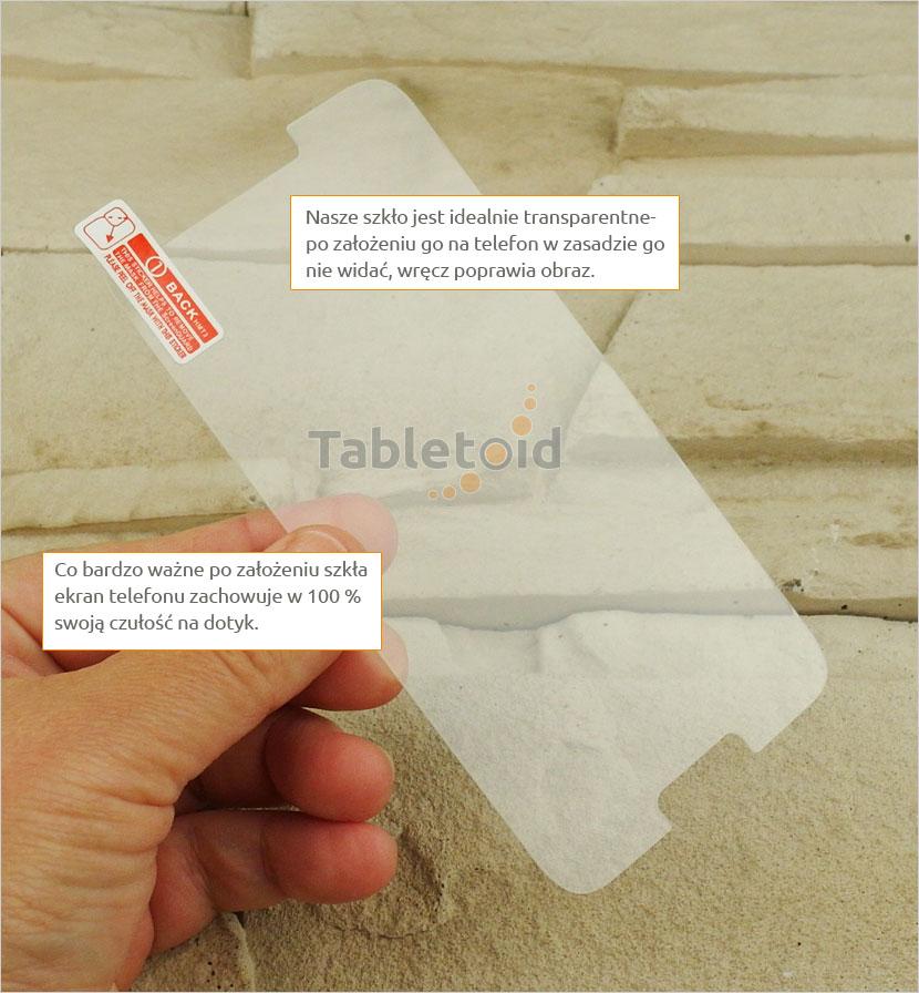 Szkło hartowane na telefon Alcatel A3
