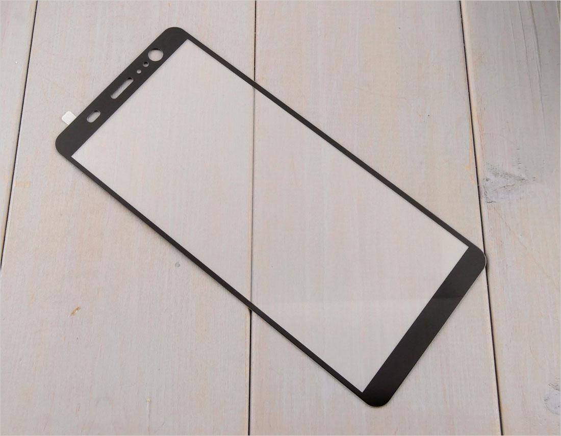 zaokrąglone szło hartowane na telefon  HTC U11 Plus