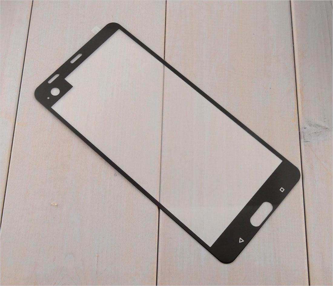 zaokrąglone szło hartowane na telefon  HTC U Ultra