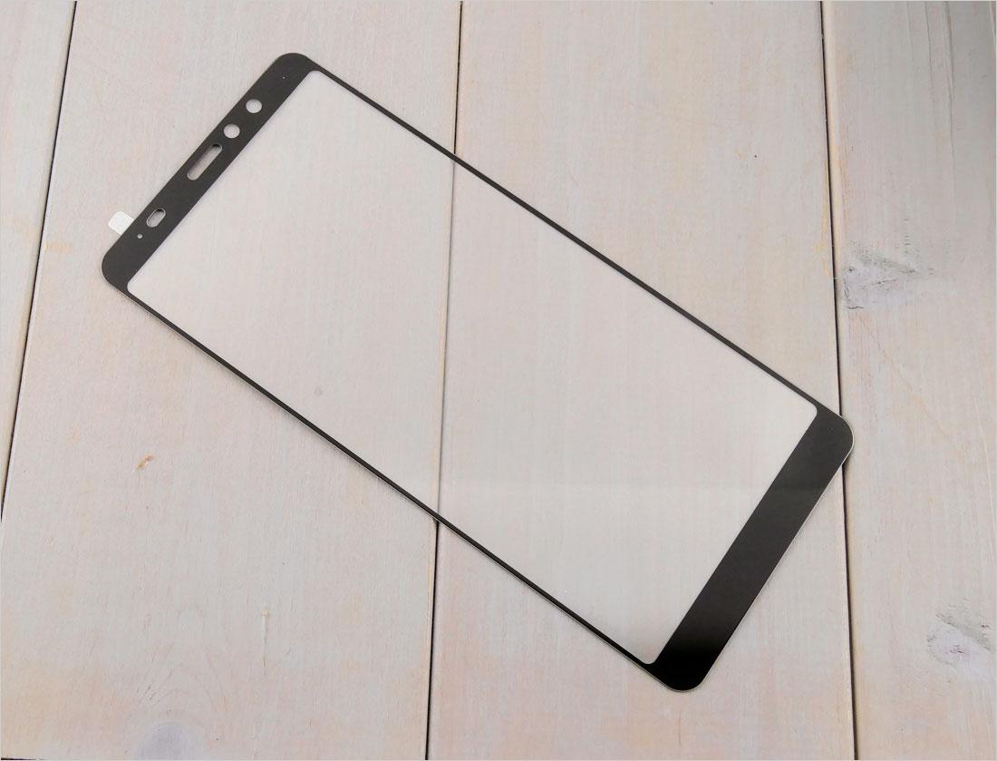 zaokrąglone szło hartowane na telefon  HTC U11 eyes