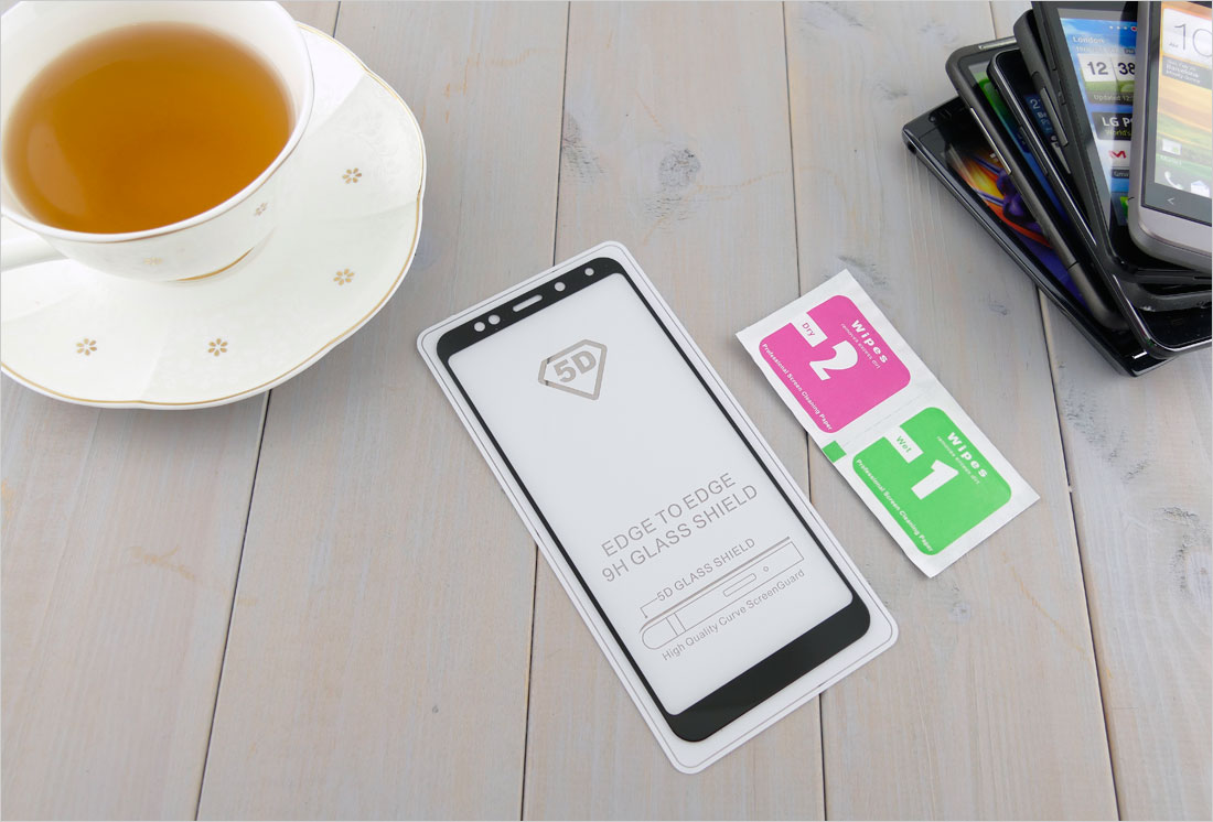 Szkło hartowane na telefon dotykowy Xiaomi Redmi 5 plus