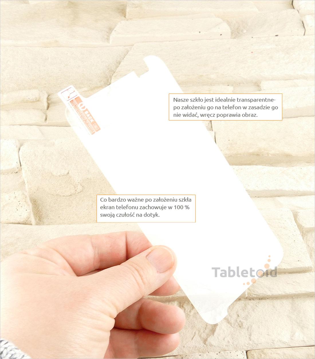 Szkło hartowane dedykowane na HTC DESIRE 830