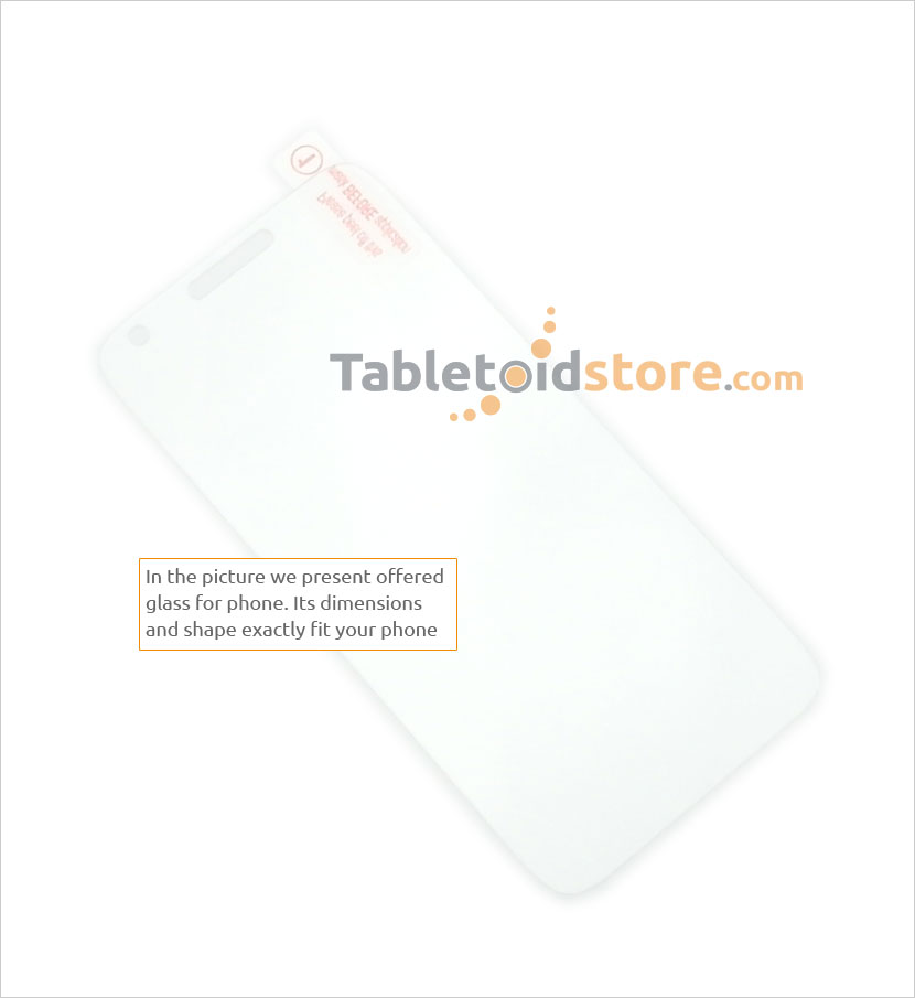 Screen guard, film, protective, 9H Alcatel Pixi 3 5,5 inch phone
