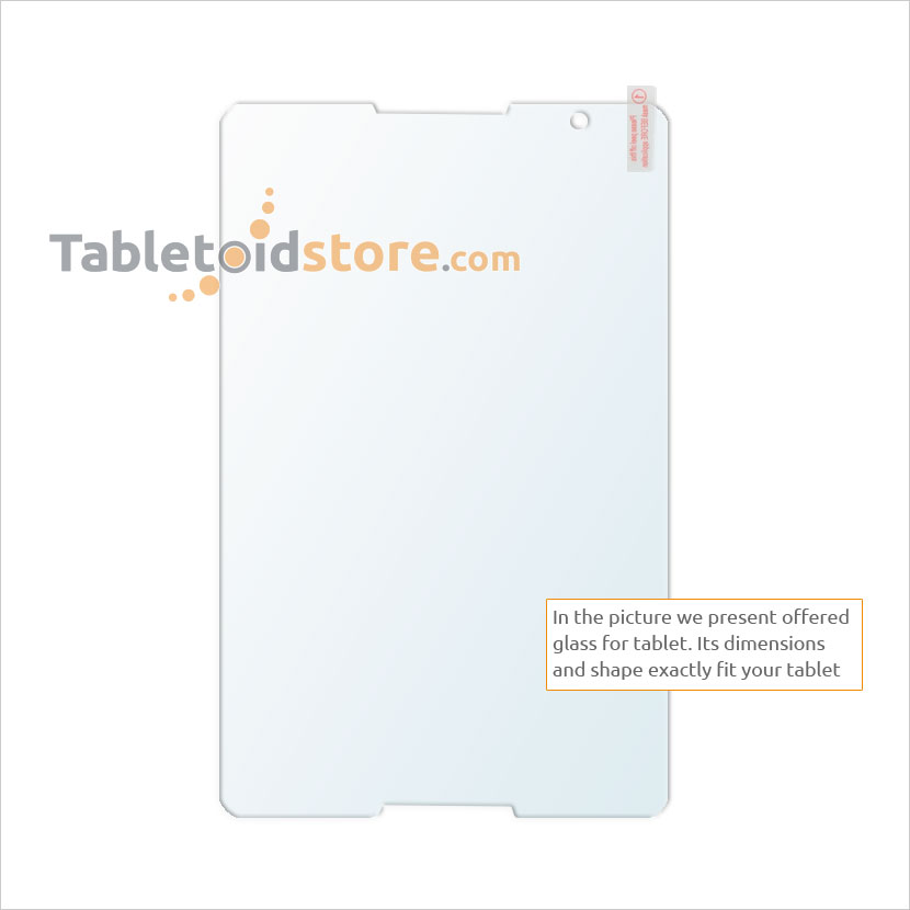 Screen guard, film, protective, 9H Lenovo A5500 tablet