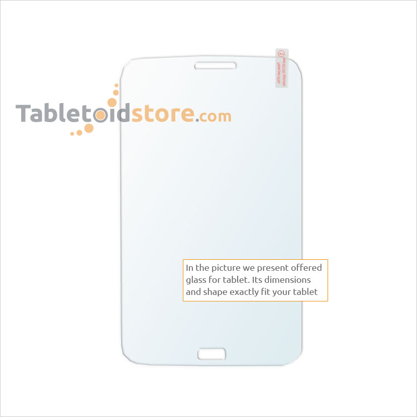 Screen guard, film, protective, 9H Samsung Galaxy Tab3 7.0 P3200, P3210, P3220, T210, T211, T215 tablet