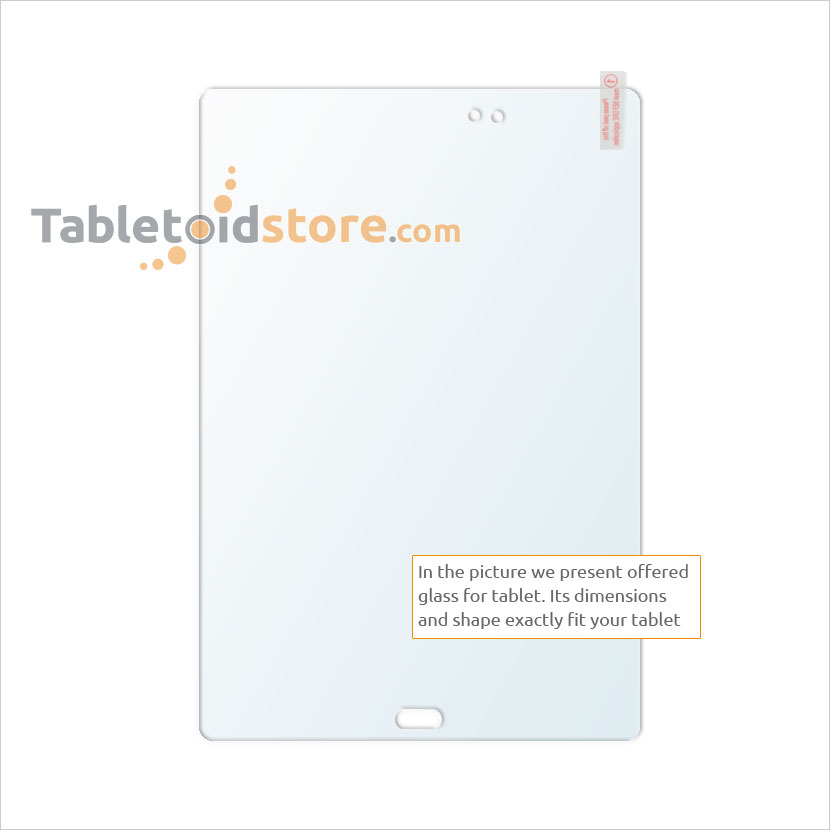 Screen guard, film, protective, 9H Samsung Galaxy Tab A 9,7 T550 / T555 tablet