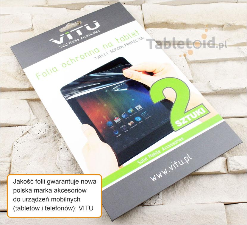 Folia dedykowana na tablet 10DC1