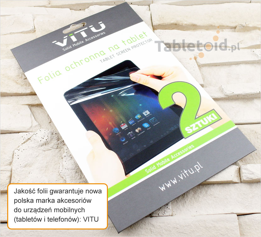 Folia z poliwęglanu na tablet Modecom FreeTAB 9702 HD X4