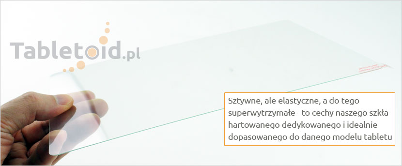 Elastyczne szkło hartowane do tabletu q88-tablet-pc-7-cali
