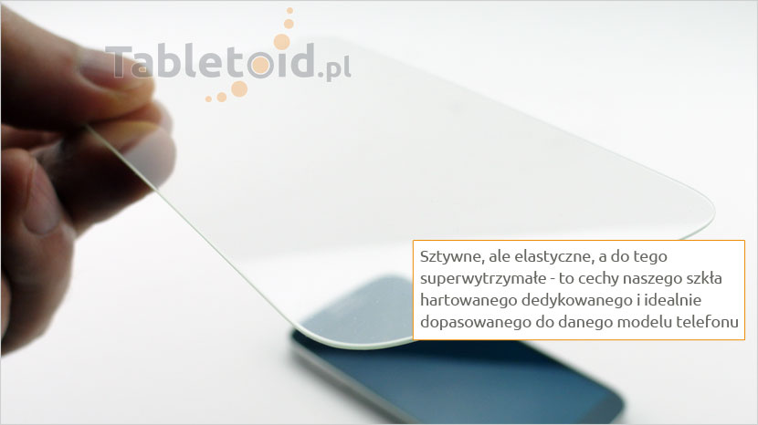 Elastyczne tempered glass do telefonu Alcatel A5 LED