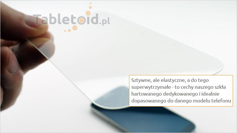 Elastyczne tempered glass do telefonu  LG X Mach