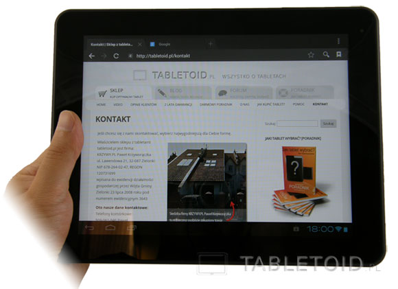 Ekran - matryca tabletu Kiano Pro 10 Dual