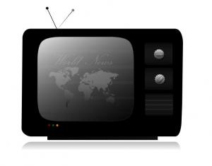 Telewizor z aktualnościami