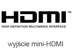 Port wyjścia video HDMI w tablecie