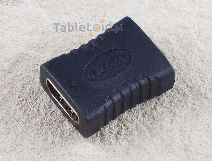 łącznik - adapter kabli hdmi