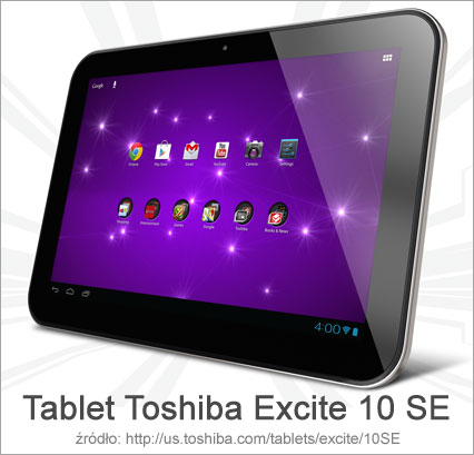 Nowy tablet Toshiba Excite 10 SE
