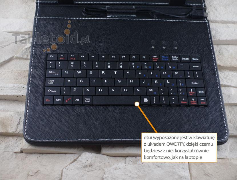klawiatura z układem QWERTY
