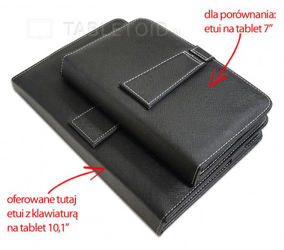 porównanie wielkości etui na tablet 7 i 10 cali