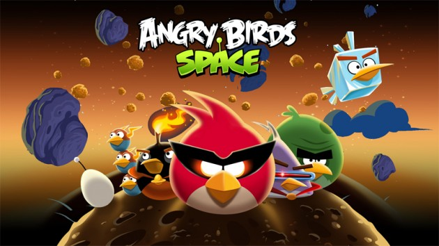 Gra na tablet - angry birds