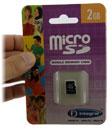 Karta pamięci microSD 2 GB do tabletu
