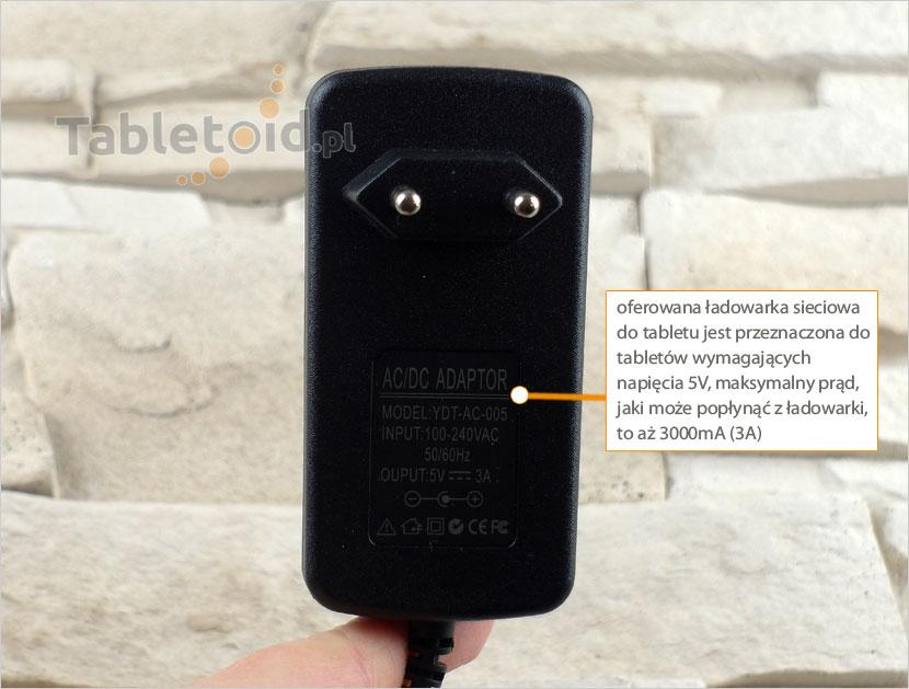 parametry ładowarki micro USB